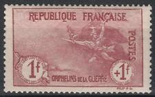 "FRANCE STAMP TIMBRE 154 "" ORPHELINS 1F+1F MARSEILLAISE "" NEUF xx LUXE  M235"
