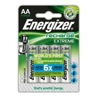 4 x Energizer AA 2300mAh NiMH Pre-charged Rechargeable Batteries - HR6 MN1500