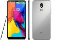 LG Stylo 5 32GB 6.2 inch Silvery White GSM Carrier Unlocked - WORLDWIDE