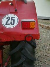 2 Lampenträger Traktor Edelstahl IHC 554/644/744 etc. mit  2 LED Rückleuchten