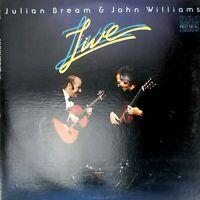 Julian Bream & John Williams Live Vintage Vinyl Record 2 x LP VG+ ARL2-3090