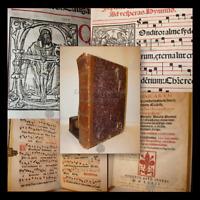 MUSICA - ANTIFONARIO ANTIPHONARIUM DOMINICARUM 1572 Venezia Incisioni, 331 carte
