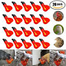 20 Pack Poultry Water Drinking Cups Chicken Hen Plastic Automatic Drinker,quail