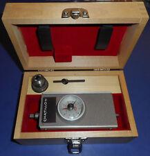Chatillon TG-10MRP Torque Gage +/- 10 oz.in. w/ wood box, chuck, & chuck key