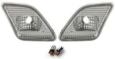 2010-11 S CLASS W221 S550 CLEAR BUMPER LIGHTS + bulbs