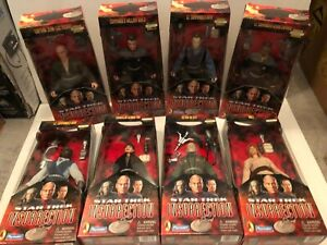 "Star Trek Playmates Insurrection 9"" Full Set of 8 1998-99 NIB MINT! BEAUTIFUL!"