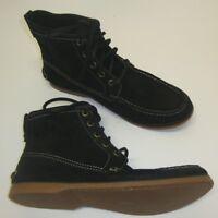 John Varvatos USA Herren Boots Schnürschuhe knöchelhoch schwarz 40 Leder NEU