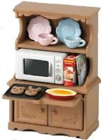 Sylvanian Families Doll Accessory furniture cupboard oven microwave oven set