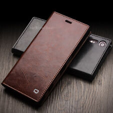 Sony Xperia Case Genuine Leather Cover Wallet Pouch Sleeve Bumper Back New Skin