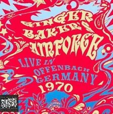 CD - GINGER BAKER'S AIR FORCE Live In The Stadthalle Offenbach Germany 1970 NEW