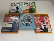Lot of 5 Audiobooks on CDs -  fiction - thrillers - JAMES BOND IS BACK!  #202