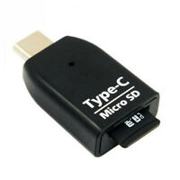 USB-C USB Type C / USB 3.1 / OTG SD TF Micro SD Card Reader Adapter