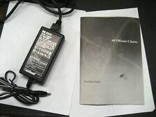 HP Officejet G Ser.All-in-One starter kit user manual, power supply, cord,bundle