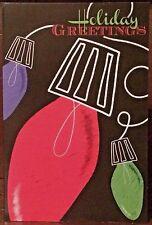 Qty 2 Wonderful Holiday Greeting & Happy New Year Season Cards & Envelopes USA