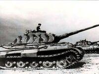 German Tiger II King Tiger Battle of the Bulge WW2 WWII World War Two / BOBO12