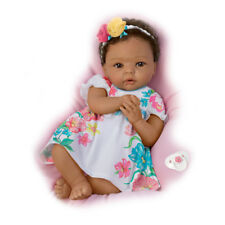 Ashton Drake Little And Lovely Gabrielle Siliconebaby girl doll by Cheryl Hill