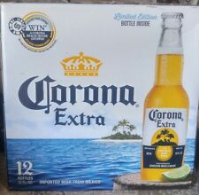 2018 Palm Tree Corona Beer Bottle Limited Edition Single Empty Special Edition