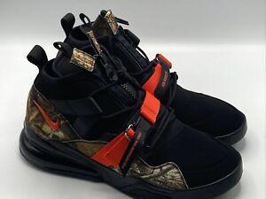 Nike Air Force Men's 270 Utility Realtree Camo Black Size 10.5 Shoes BV6071-001