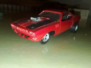 1971 PLYMOUTH HEMI CUDA BUILT MODEL CAR KIT MONOGRAM?