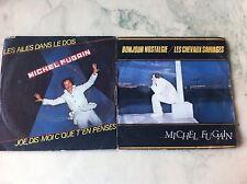 A saisir Lot De 2 45T Michel Fugain