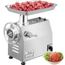 Vevor Commercial 1hp Electric Meat Grinder 550lbsh Meat Mincer Sausage Maker
