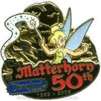 RARE Disney Pin 70020 DLR Celebrate the Mountains Matterhorn Completer LE 100