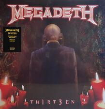 Megadeth - Th1rt3en 2 x LP 180 Gram Black Vinyl Record SEALED Metal Album - 13
