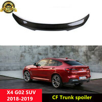X4 Trunk Spoiler Carbon Fiber Wings for BMW X4 G02 SUV 2018+ PSM Style