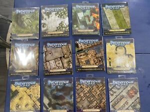 HUGE collection of 60+ NEW Pathfinder/D&D GameMastery Map & Flip-MatsPacks