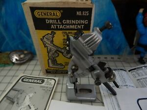 General no.825 drill bit sharpener grinding tool drill press