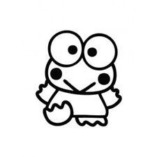 Sanrio Keroppi Frog Waving Decor Japan Cartoon Decal Sticker Car Window Laptop