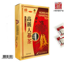 Anti Stress Fatigue Korean Red Ginseng Extract Tea 3g x 100bags X 2 Boxes