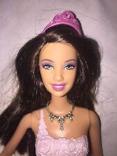 Barbie Fashion Mix & Match Fairytale Brunette Barbie With Long Ribbon Skirt