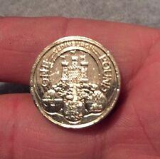 Raro 2011 Royal Mint capitales Edimburgo £ 1 Libra Moneda-Monedas Muy Brillante!!!