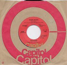 BOB SEGER  Night Moves / Ship O Fools  45 from 1976