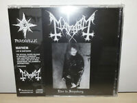 MAYHEM - LIVE IN SARPSBORG - CD + DVD