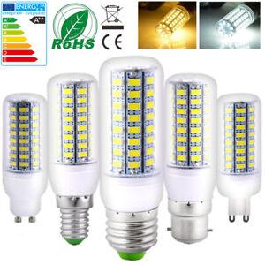 4X Ampoulede de Maïs E27 B22 E14 G9 GU10 Lampe Blanc Chaud Blanc Froid Éclairage
