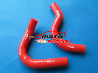 Red for MITSUBISHI Triton MJ 2.6 Carburettor Petrol 91-96 Radiator Silicone Hose