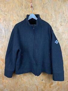 HENRI LLOYD, Mens Size L, Charcoal, Arm Logo, HW Zip Thru Bomber Jacket,*VGC*