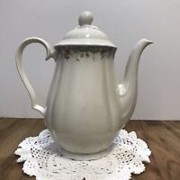 Beautiful Elegant Seltmann Weiden Bavaria Marie Luise  Teapot W Germany Flowers