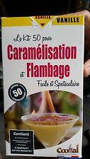 Kit Caramélisation pour crème brulée sans chalumeau gateaux Patisserie