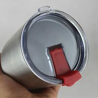 Splashproof Leakproof Replacement Spill Lid for 20oz Tumbler Travel Cup Red
