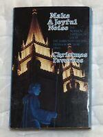 MAKE A JOYFUL NOISE CHRISTMAS FAVORITES Mormon Tabernacle Choir (Cassette, 1991)