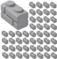 4x LEGO 3069b Piatto 1x2 Grigio scuro4211052