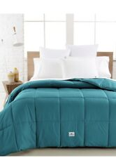 Lacoste Home Sateen Color Down Alternative Twin Comforter Biscay Bay