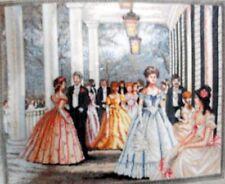"""Bucilla Heirloom ricamo KIT una classica scena di ballo """"Southern Belles"""