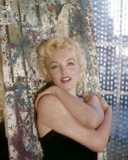 MARILYN MONROE 8x10 PICTURE SWEET POSE COLOR PHOTO