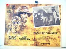 ¡ONLY AVAILABLE 24h.!/ THE MISSOURI BREAKS/MARLON BRANDO/1976/OPTIONAL SET/55181