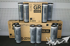10 Riso S-2314 High Density Black Ink, Risograph GR 3770 HD Digital Duplicator