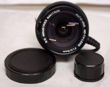 D.O Industries Navitron Auto Iris TV lens F1.3/8mm ALC Level Adjustments MIB